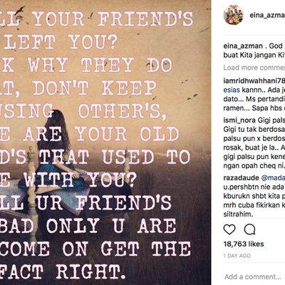 Video Datin Ciplak Rebecca Nur Al Islam Perli Eina Azman