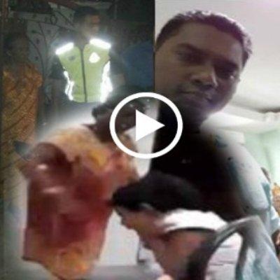 Video Kanak Kanak Didera Hingga Sesak Nafas Gara Gara Tertumpahkan Nasi