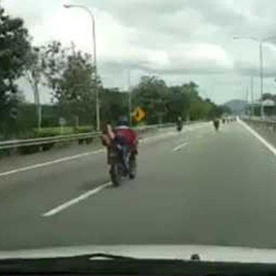 Video Kemalangan Maut Konvoi Rxz Dari Klang Ke Langkawi