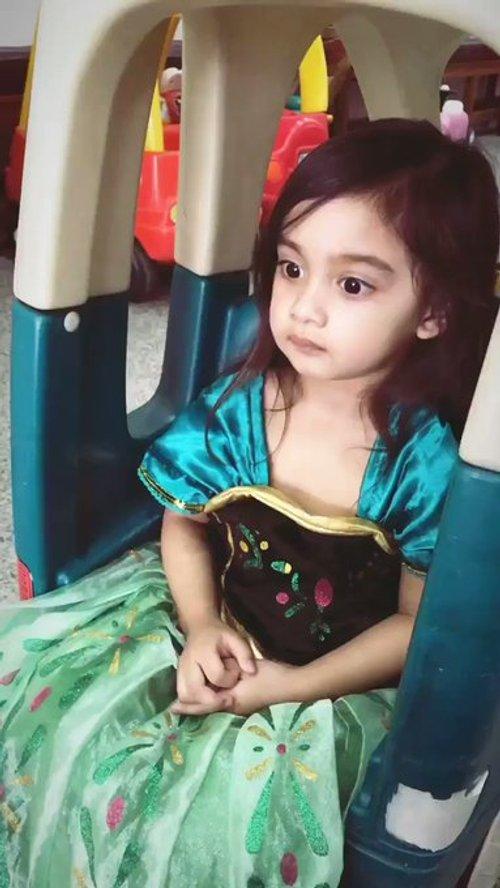 Video Panggil Princess Tak Suka Kena Panggil Makcik Aksi Comel Anak Aeril Jadi Tumpuan