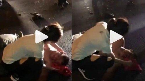 Viral Kecelakaan Tragis Terjadi Di Bali Aksi Wanita Cantik Ini Dapat Pujian Netizen