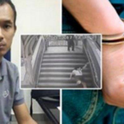 Viral Lelaki Yang Tendang Wanita Dari Belakang Bukan Sakit Mental Polis Dedahkan Lelaki Ini Sebenarnya