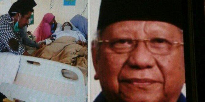 Wafat Di Rs Bsd Eks Wali Kota Samarinda Achmad Amins Dimakamkan