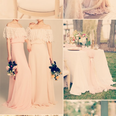 Warna Tema Majlis Pekahwinan 2016 Peach