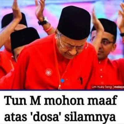 Wayang Air Mata Mahathir Kembali Lagi Boleh Percaya Ker
