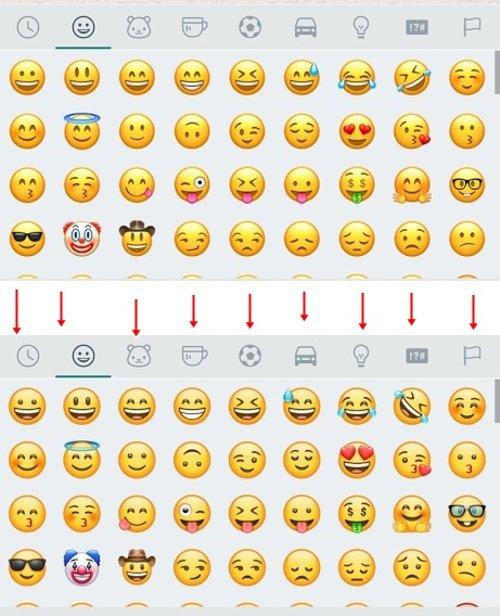 Whatsapp Mula Memperkenalkan Penggunaan Rekaan Emoji Baru