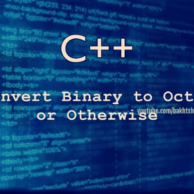 C convert binary to char