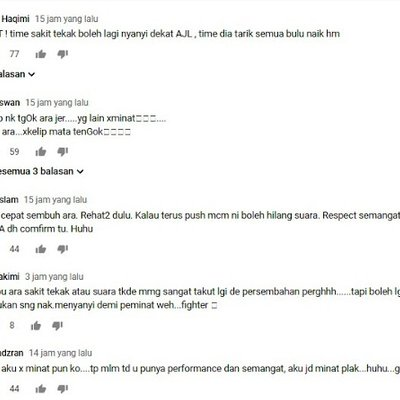 You Are The Real Fighter Ara Netizen