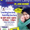 Bengkel Basic Front Carry Bersama Dr Asha Hasnimy 16 September 2017